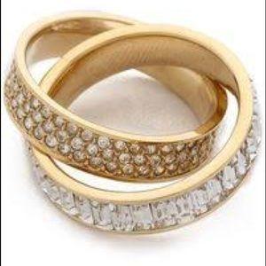 Michael Kors Brillance Intertwined Ring